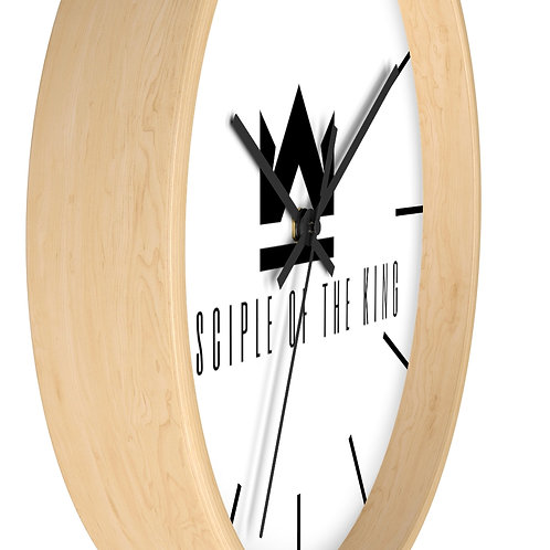 """No man knows the hour"" Wall clock"