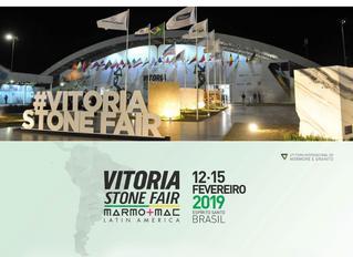 Vitoria Stone Fair 2019 apontará tendências do mercado de rochas ornamentais