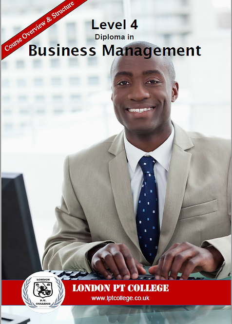Payment - Level 4 Diploma in Business Management