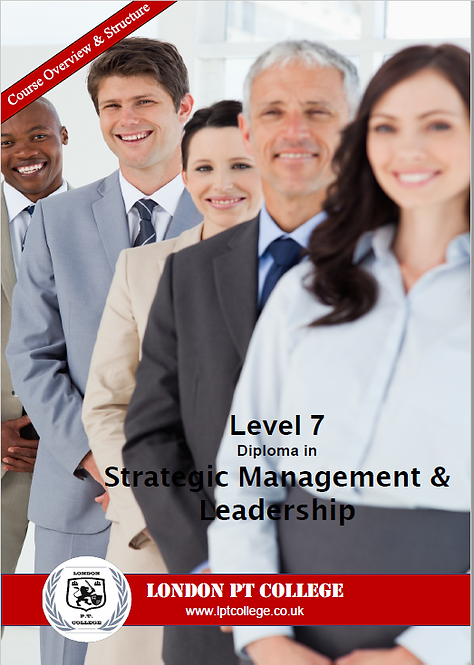 Level 7 Diploma in Business Management