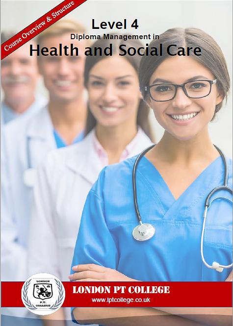 Level 4 Health & Social Care Course