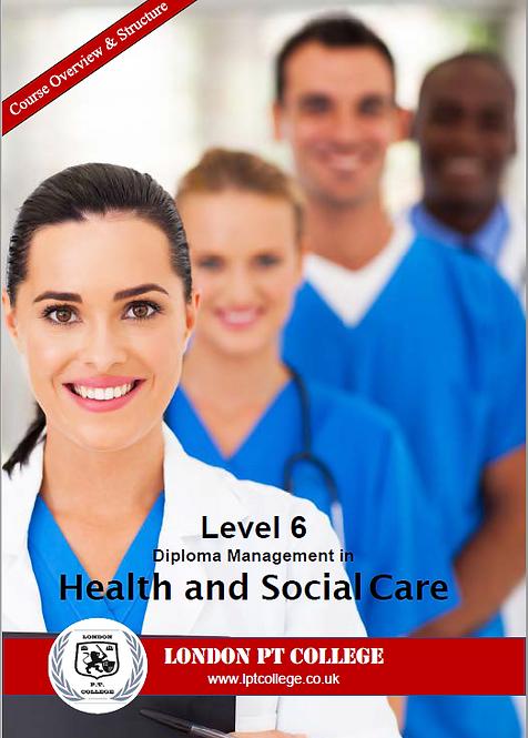 Level 6 Health & Social Care Course