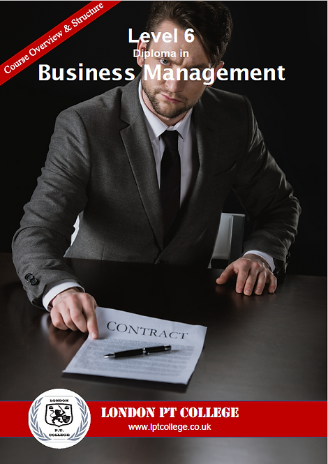 Payment - Level 6 Diploma in Business Management