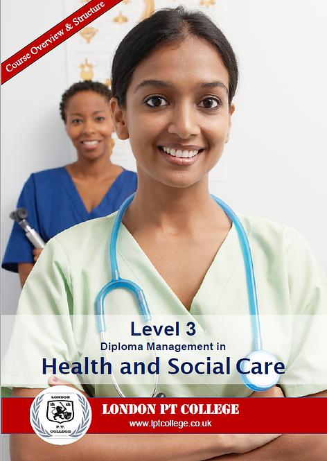 Level 3 Health & Social Care Course