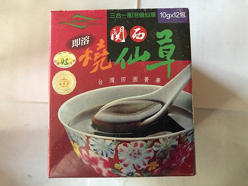Taiwan Kansai Instant Grass Jelly Powder 10g12 Bags Grass Jelly Mesona ch