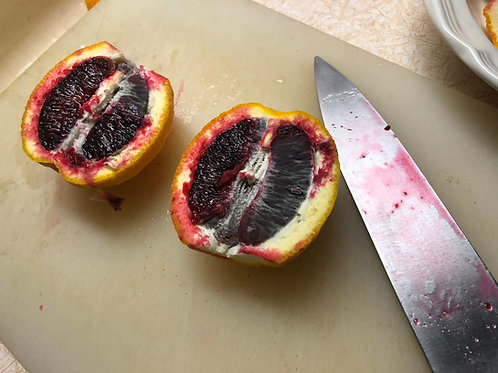 The Clayton Farm Moro Blood Orange (5 LB), available after January