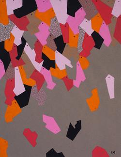 Gouache sur papier - 50x65 cm