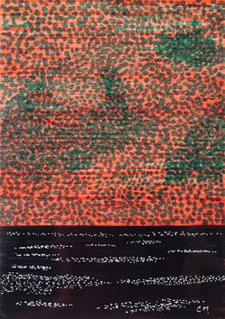 Encre sur papier photo - 21x29 cm