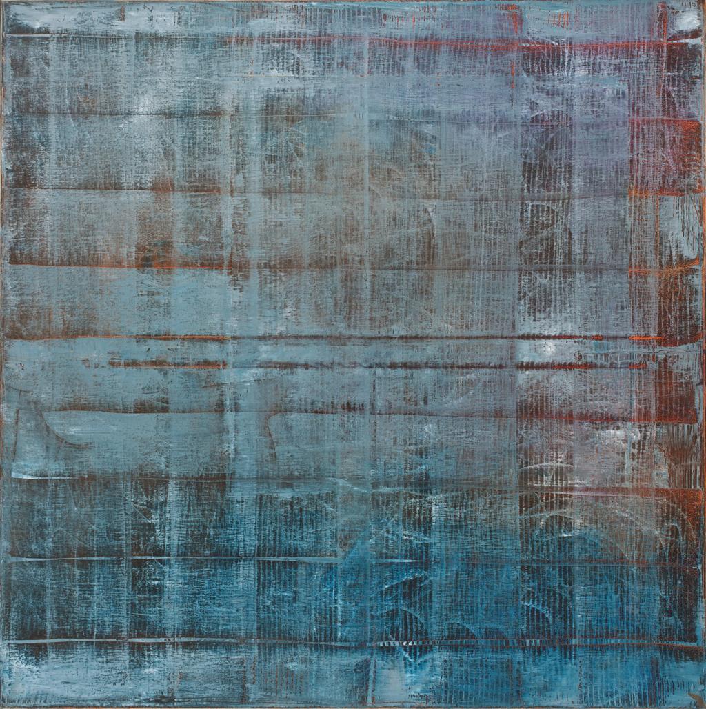 Huile sur toile - 90x90 cm