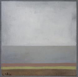 Huile sur toile - 80x80 cm