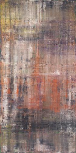 Huile sur toile - 70x140 cm