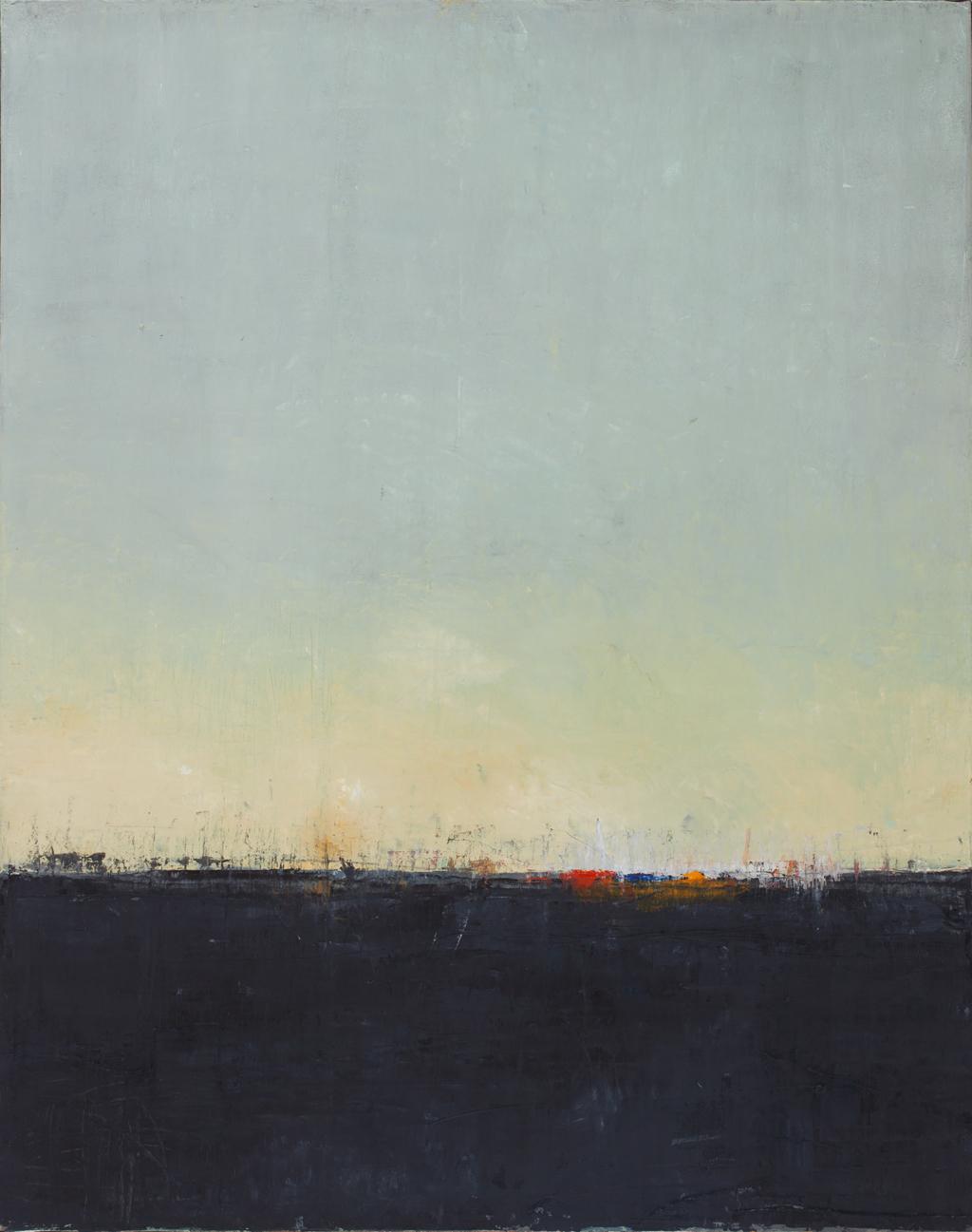 Huile sur toile - 73x92 cm