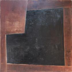 Huile sur toile - 100x100 cm