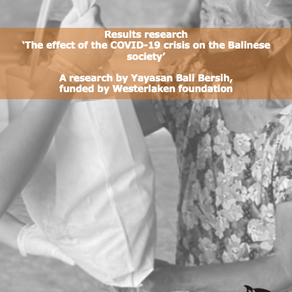 Publication: COVID-19 influence on the Balinese society