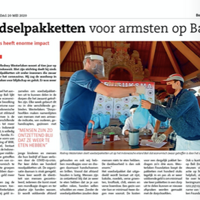 Westerlaken foundation in local Dutch newspaper Bossche Omroep