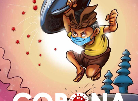 Corona book for teenagers