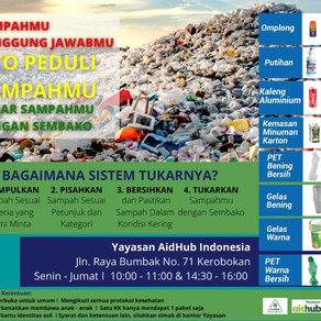 Trash for Sembako