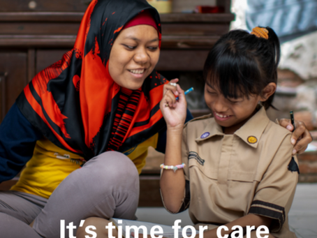 It's time for care, prioritising quality care for children during the COVID-19 pandemic.