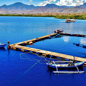 Westerlaken Foundation contributes Rp 25.000.000,- to the construction of the sea pen in North Bali