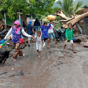 Help Eastern Indonesia after a cyclone hit several islands