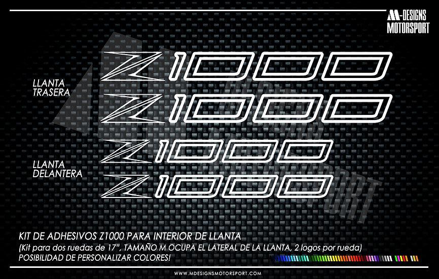 LLANTA INTERIOR Z1000