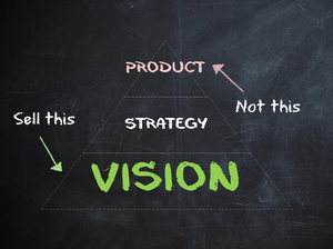 Sell vision not the product - 70Ventures