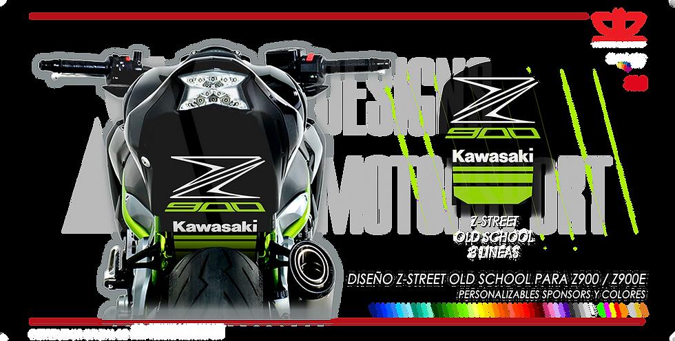 Paso de rueda Z-STREET 2017 3 LINEAS Z900