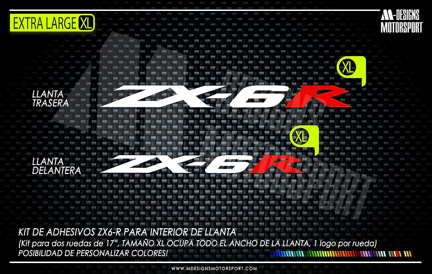 LLANTA INTERIOR ZX6R XL