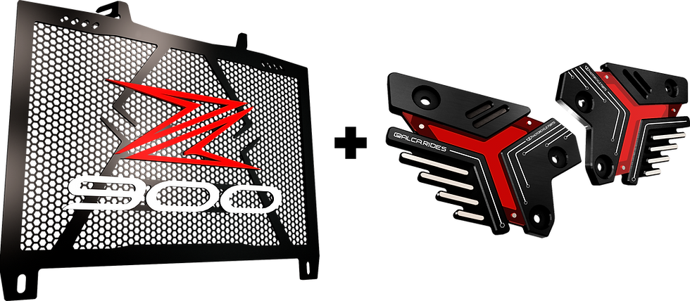 PACK PROTECTOR RADIADOR Z900 + GUARDATACÓN Z900