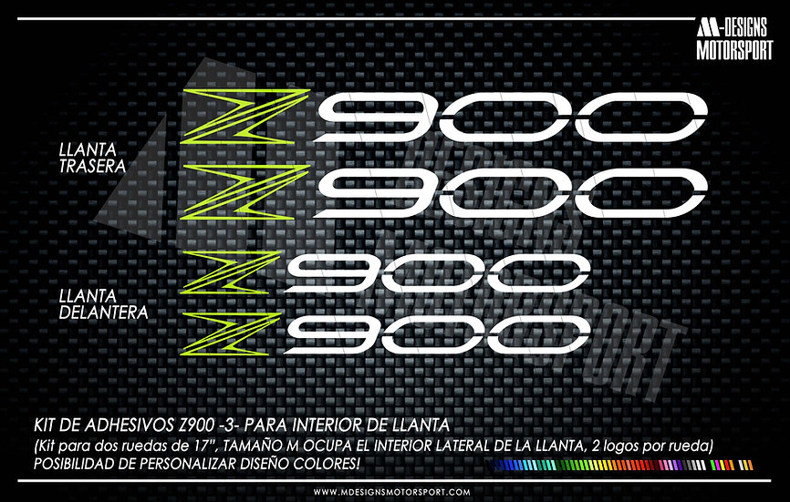 LLANTA INTERIOR Z900