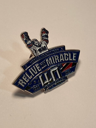 Relive The Miracle, 40th Anniversary Pin