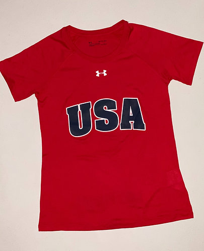 Women's USA & Lake Placid Locker Tee