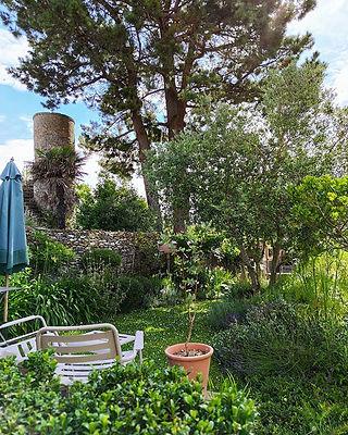 Vue côté Jardin #chambredhotes  #vacance