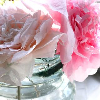 Atelier Création fleurs papier