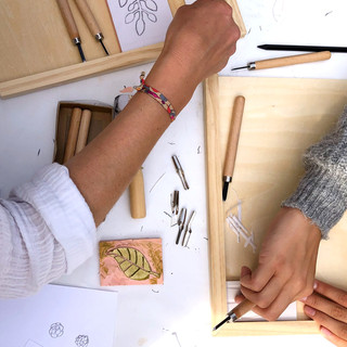 Atelier linogravure