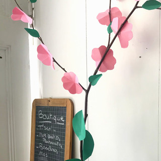 Atelier origami / fleurs