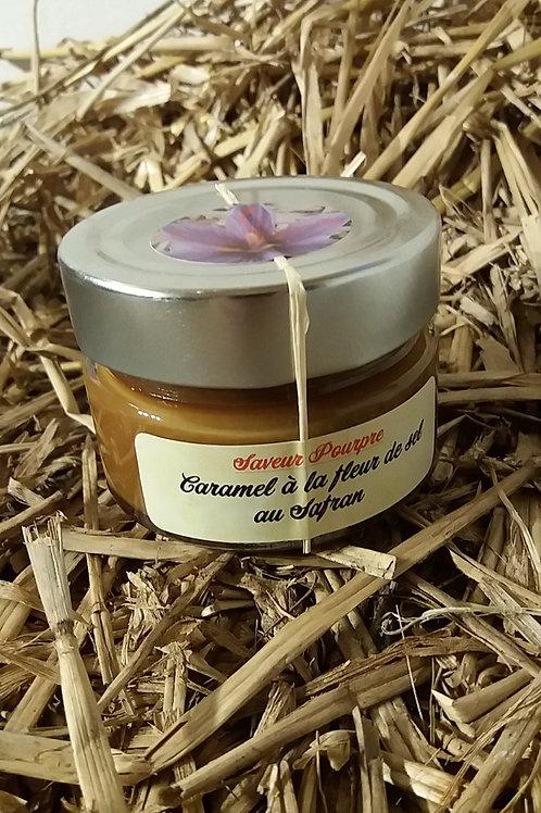Saveur pourpre, caramel à la fleur de sel et au safran 150 g