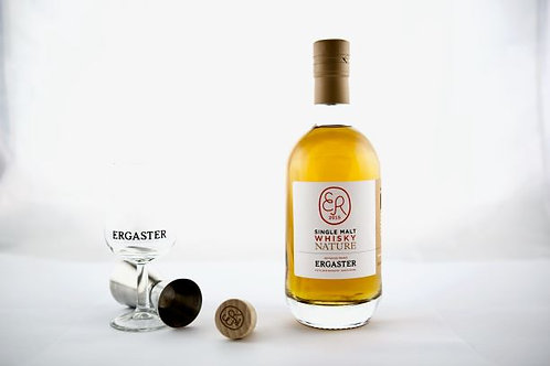 Distillerie Ergaster, single malt nature  45% 50 cl