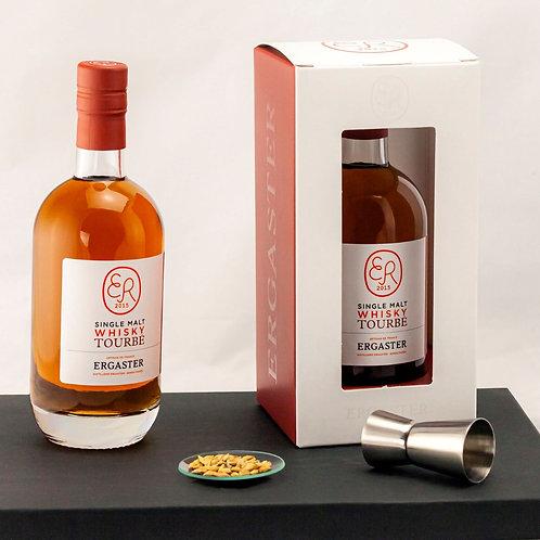 Distillerie Ergaster, single malt tourbé 45% 50 cl