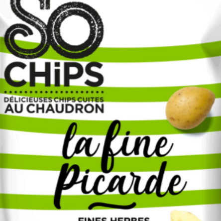 So chips, chips fine picarde fines herbes 125 g