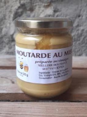 Miellerie des Chaoux, moutarde au miel, 200g