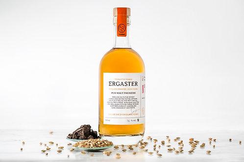 Distillerie Ergaster, pur malt première nature 50 cl