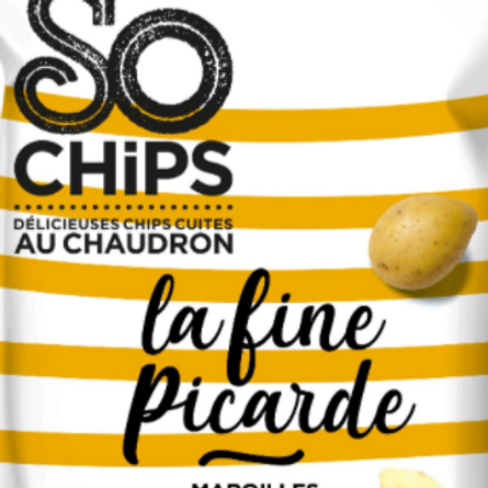 So chips, chips fine picarde maroilles 125 g