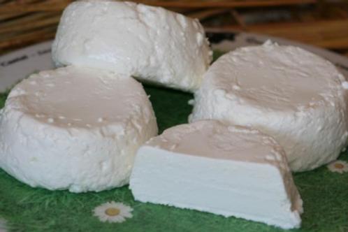 La ferme du Mont de Berneuil, fromage de chèvre frais