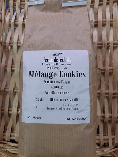 Ferme de Léchelle, Mélange cookies, 1kg