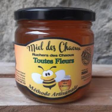 Miellerie des Chaoux, Miel toutes fleurs, 500 g