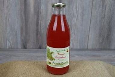 Ferme des Charmettes, Jus de pommes-framboises, 1 litre