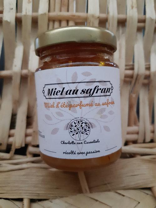 Charlotte aux essentiels, miel au safran, 125g