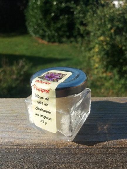 Saveur pourpre, fleur de sel au safran 20 g