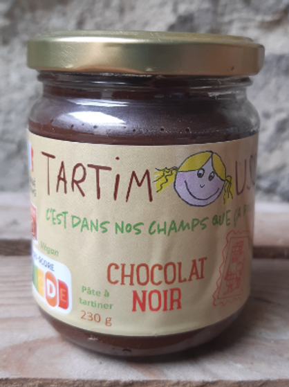 Graine de choc, tartimouss chocolat noir, 230 g
